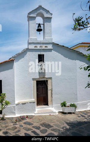 A Small Chuch in Skopelos Town, Northern Sporades Greece. - Stock Image