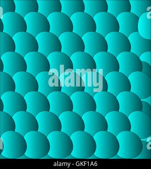 blue circle background - eps 10 - Stock Image
