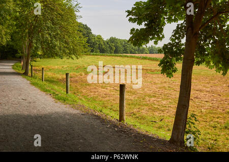 The Lancaster Junction Trail, a rail trail in Lancaster County, Pennsylvania, USA - Stock Image