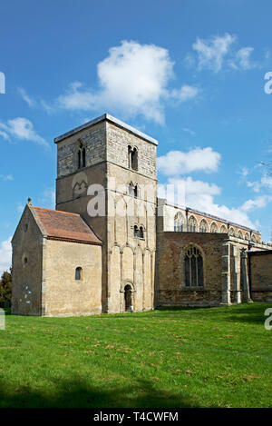 St Peter's Church, Barton upon Humber, North Lincolnshire, England UK - Stock Image