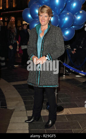 Company - opening VIP night at the Gielgud Theatre, Shaftesbury Avenue, London  Featuring: Clare Balding Where: London, United Kingdom When: 17 Oct 2018 Credit: WENN.com - Stock Image