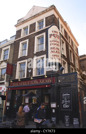 The Strutton Arms Pub Westminster London - Stock Image
