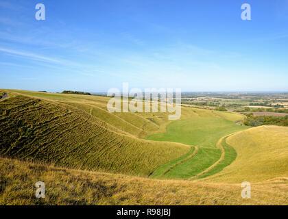 The Manger, Uffington, Oxfordshire, England, United Kingdom - Stock Image