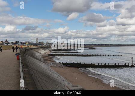 Aberdeen Beach Esplanade - Stock Image