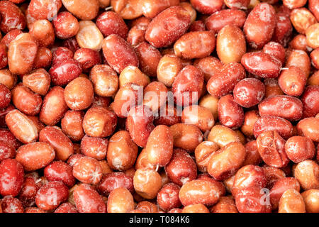 Close up shot of a group of Jujube Fruits - Stock Image