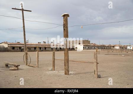 Humberstone, Ghost town Chili - Stock Image
