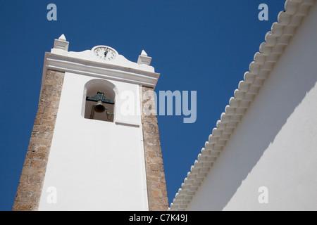 Portugal, Algarve, Monchique, Church Belltower - Stock Image