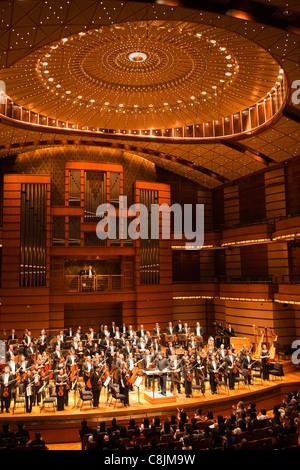 Devan Philhaminc Concert Hall Malaysian Philharmonic Orchestra. - Stock Image
