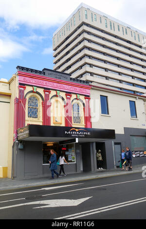 Historic building currently Mirmire Nepali Taste restaurant in the Hobart CBD, Tasmania, Australia. No PR or MR - Stock Image