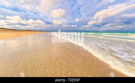 Cable Beach at sunrise. Broome, Western Australia - Stock Image