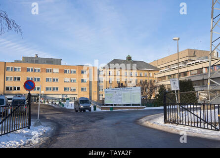 Aker Sykehus, local hospital and emergency services in Oslo Norway - Stock Image
