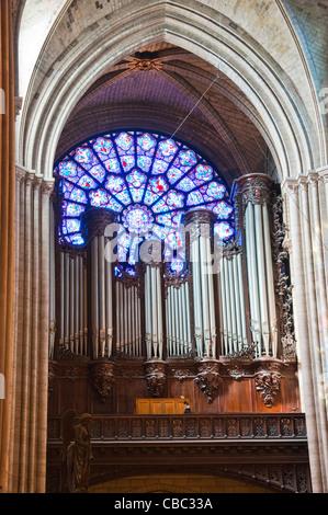 Notre Dame de Church Paris France - Stock Image