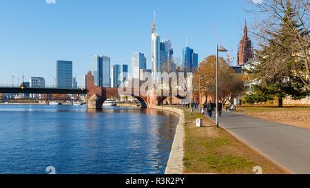 Frankfurt am Main, Hesse, Germany. 18th November 2018. - Stock Image
