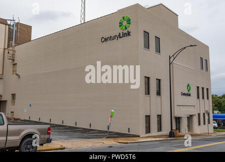 HICKORY, NC, USA-10/14/18: A Century Link Communications building in downtown. - Stock Image