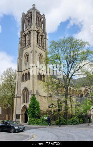 The Victorian Gothic revival All Saints church in Talbot Road,Notting Hill. - Stock Image