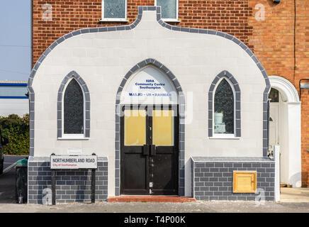 Masjid Ar-Rahmah mosque along Northumberland Road, Southampton, England, UK - Stock Image