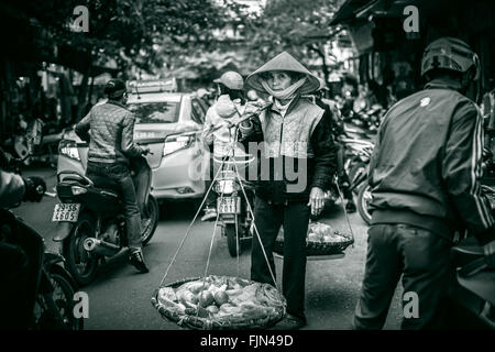 Busy Vietnam Road - Stock Image