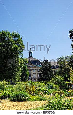 The botanical garden of Westphalian Wilhelm University of Münster, Germany. - Stock Image
