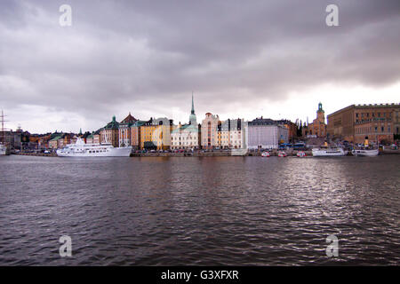 Gamla Stan Stockholm - Stock Image