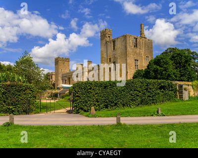 grounds estate stately home - Stock Image