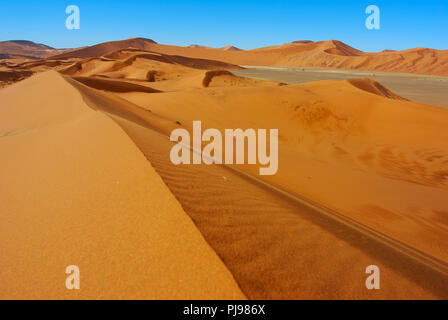 Famous namib desert , Namibia - Stock Image