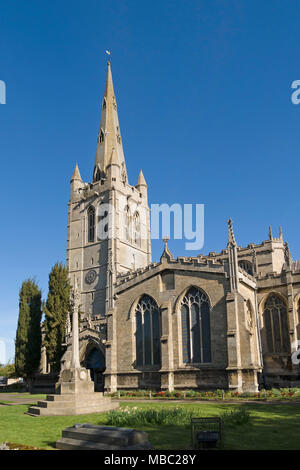 All Saints Parish Church, Oakham, Rutland, England, UK. - Stock Image