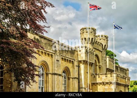 UK Oxford Old County Hall - Stock Image