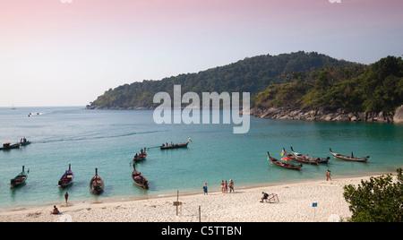 Tropical Beach Freedoom Beach Phuket - Stock Image