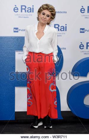 Franca Leosini milano, 13-07-2019 - Stock Image