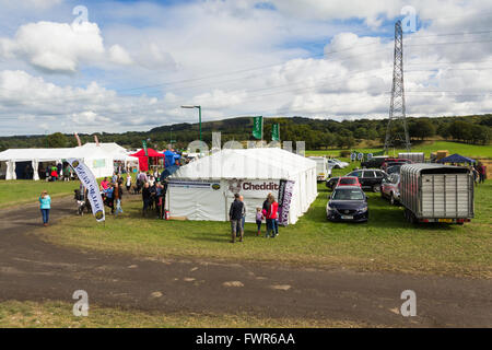 Lancashire Game and Country Festival 2015 showground at Scorton, Lancashire in September 2015. - Stock Image