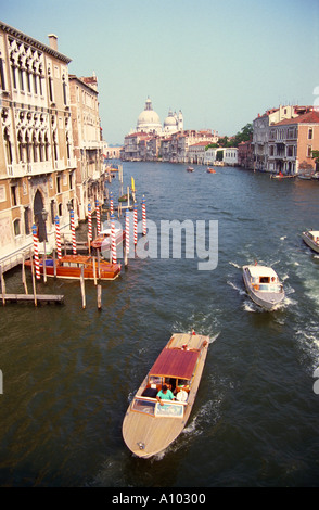 Grand Canal Venice Italy - Stock Image