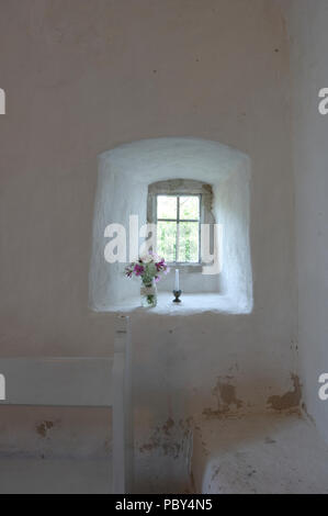 St Olav's Church in Vormsi, Lääne county, Estonia - Stock Image