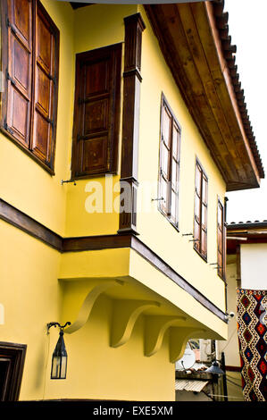 A renovated traditional Ottoman style house in Turkey - Stock Image