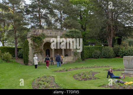 Nymans House and gardens, West Sussex. managed by the National Trust. - Stock Image