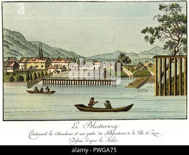 Brupbacher Zürich Bleiche. - Stock Image