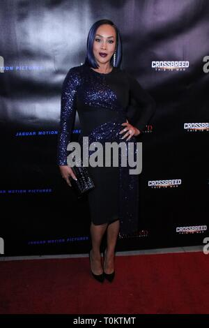 'Crossbreed' Premiere - Arrivals  Featuring: Vivica A. Fox Where: Beverly Hills, California, United States When: 06 Feb 2019 Credit: WENN.com - Stock Image