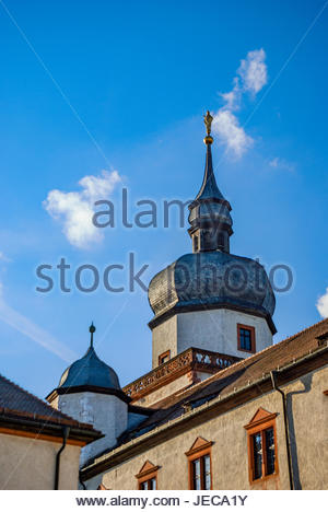 St. Kilian's Tower at the Marienberg Fortress in Würzburg - Stock Image