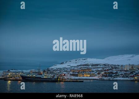 Hammerfest, Norway. - Stock Image