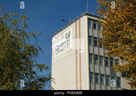 Coventry University George Eliot building in Coventry city centre UK - Stock Image