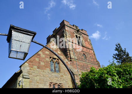 St Leonard's Church at Wychnor in Staffordshire - Stock Image