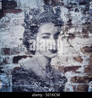 Graffiti Queen - Stock Image