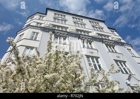 the stellahaus in hamburg altstadt - Stock Image