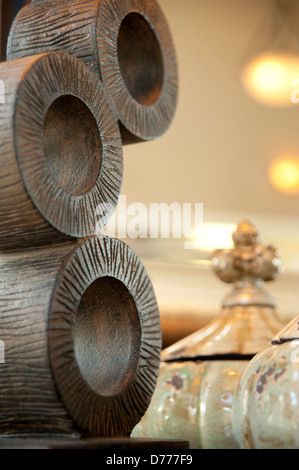 Macro Home Decor Kitchen background,stationary - Stock Image