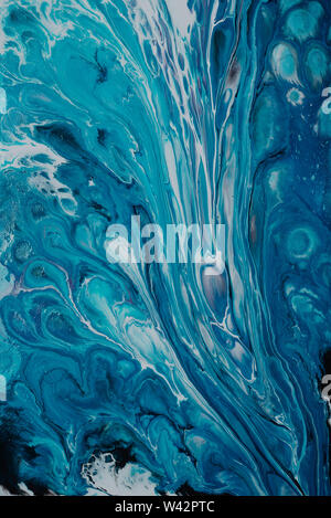 abstract oil paint texture on wall, background - Image - Stock Image