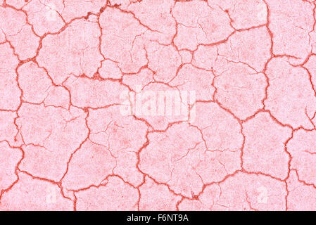 Closeup of old painted asphalt details - Stock Image