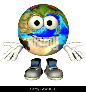 mother earth - Stock Image