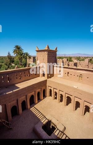 Amridil Kasbah in Skoura, Ouarzazate Morocco - Stock Image