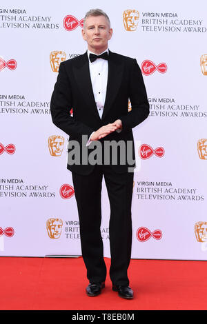 London, UK. 12th May, 2019. LONDON, UK. May 12, 2019: Patrick Kielty arriving for the BAFTA TV Awards 2019 at the Royal Festival Hall, London. Picture: Steve Vas/Featureflash Credit: Paul Smith/Alamy Live News - Stock Image