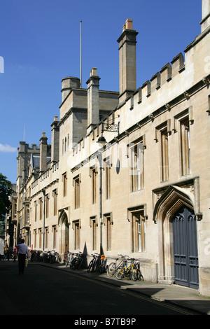 Exeter College, Turl Street, Oxford University, Oxfordshire, UK - Stock Image