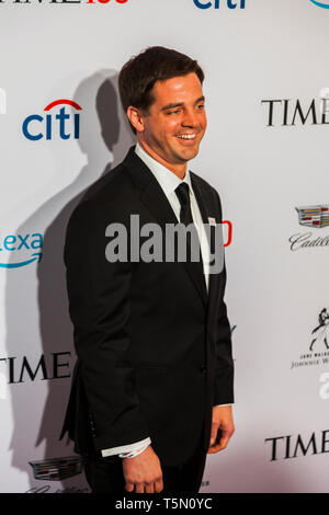 Jay o'Neal attends TIME 100 GALA on April 23 in New York City - Stock Image